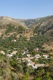 Mountain village Crete Stock Images