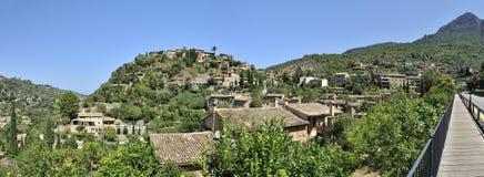 Mountain Village Deia Stock Photo