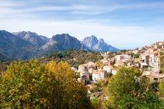 Mountain village of Evisa Royalty Free Stock Image
