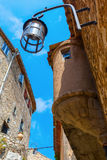 Mountain village Eze at the Cote dAzur, France Royalty Free Stock Images