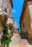 Mountain village Eze at the Cote dAzur, France Stock Image