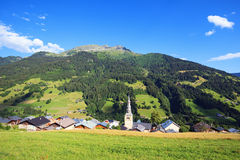Mountain village Royalty Free Stock Photos