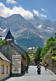 Mountain village Gavarnie in the Pyrenees Stock Photography