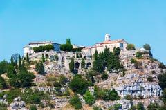Mountain village Gourdon, Provence, France Stock Photography