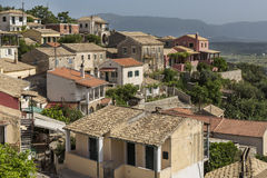 A mountain village in Greece Royalty Free Stock Photo