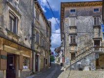 Mountain village Groznjan, Istria, Croatia. Artist village and mountain village Groznjan, Istria, Croatia, Europe royalty free stock image