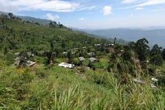 Mountain village in Horten Plains in Sri Lanka. A Mountain village in Horten Plains in Sri Lanka Stock Photos