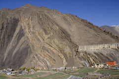 The mountain village Kagbeni, Mustang Stock Photos