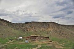 Mountain village Stock Image