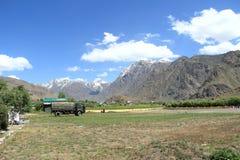 Mountain Village-9. Royalty Free Stock Photo