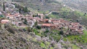 Mountain village of Lazania in Cyprus Royalty Free Stock Photo