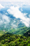 Mountain village-Lingshan Shangrao Stock Images