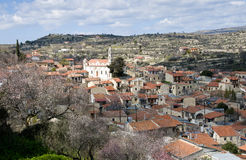 Mountain village of Lofou, Cyprus Royalty Free Stock Image