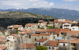 Mountain village of Lofou, Cyprus Stock Images