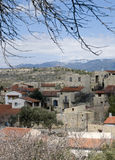 Mountain village of Lofou, Cyprus Royalty Free Stock Photography