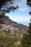 Mountain village in Majorca Royalty Free Stock Images