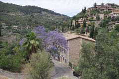 Mountain village on mallorca. Small village in the mountains of mallorca Royalty Free Stock Photography