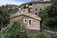 Mountain village on mallorca. Small village in the mountains of mallorca Royalty Free Stock Image