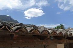 Mountain village on mallorca. Small village in the mountains of mallorca Stock Images