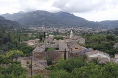 Mountain village on mallorca. Small village in the mountains of mallorca Royalty Free Stock Photos