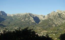 Mountain village on mallorca. Small village in the mountains of mallorca Stock Photo