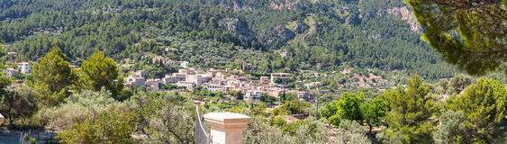 Mountain village on Mallorca in Spain. Mountain village on the west coast of Mallorca in Spain Stock Photo