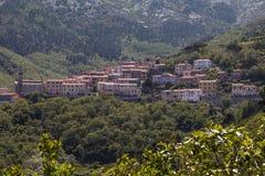 Mountain village of Marciana, Elba island, Tuscany, Italy Royalty Free Stock Image