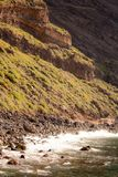 Masca in tropical landscape of Tenerife, Canary Islands, Spain stock photography