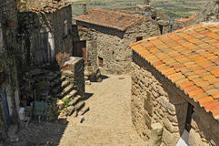 Mountain village, Monsanto portugal Royalty Free Stock Photography