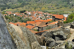 Mountain village, Monsanto portugal Royalty Free Stock Photos