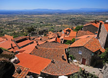 Mountain village Monsanto(Portugal) Stock Photography