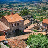 Mountain village MonsantoPortugal Royalty Free Stock Photos