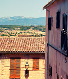 Mountain village Montuiri in Majorca Stock Images
