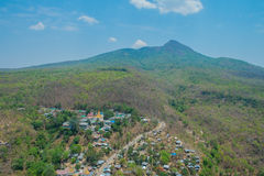 Mountain village in Myanmar Stock Image