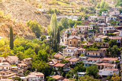 Mountain village of Palaichori. Nicosia District, Cyprus Stock Photography