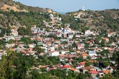 Mountain Village of Pedoulas, cyprus Royalty Free Stock Image