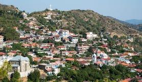 Mountain Village of Pedoulas, cyprus Stock Photos