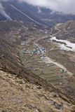 The mountain village of pheriche nepal Royalty Free Stock Photography