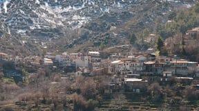 Mountain village of Polystypos  , Cyprus Stock Photography