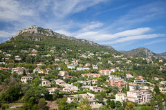 Mountain village in Provence Royalty Free Stock Photos