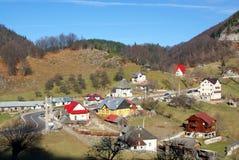 Mountain village resort Stock Photos