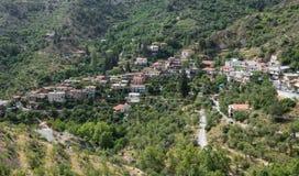 Mountain Village resort of Askas Cyprus Stock Photography