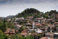 Mountain Village resort of Palaichori Cyprus Royalty Free Stock Photos