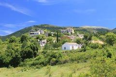 Mountain Village of Saint Jurs, France Stock Photography