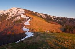 Mountain village of shepherds Royalty Free Stock Photos