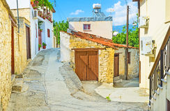 The mountain village Royalty Free Stock Image