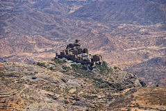 Mountain village, Yemen Stock Images