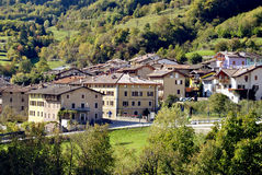 Mountain villages Stock Images