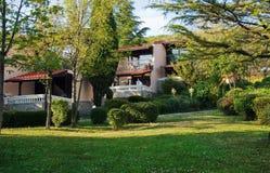 Mountain villas Royalty Free Stock Image