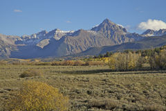 Mountain Vista in Fall Stock Photos
